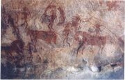 Rock painting-30,000 years-old