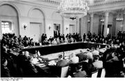 Warsaw pact conference 1955