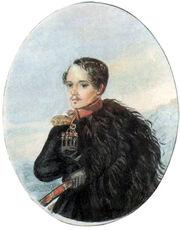 Lermontov-Autoportrait