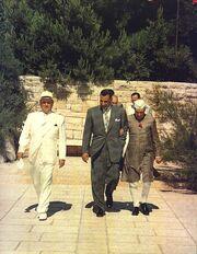 Tito Nasser Nehru in Brioni