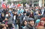 Chilean-protesters