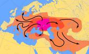 Indo European Map