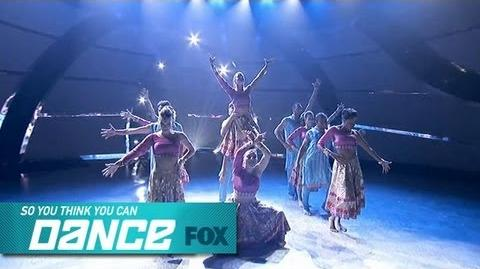 Group Performance Top 12 Performs SO YOU THINK YOU CAN DANCE FOX BROADCASTING