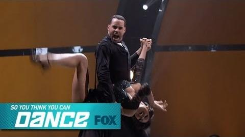 Jasmine H & Aaron Top 16 Perform SO YOU THINK YOU CAN DANCE FOX BROADCASTING