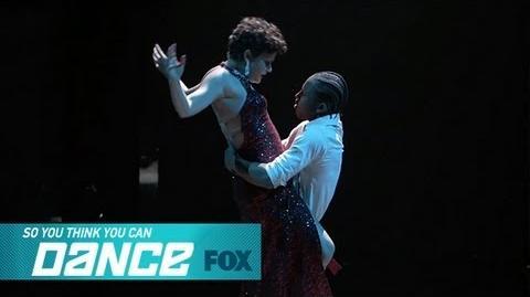 Fik-Shun & Melanie Top 10 Perform SO YOU THINK YOU CAN DANCE FOX BROADCASTING