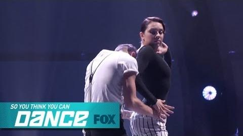 Jenna & Tucker Top 17 Perform SO YOU THINK YOU CAN DANCE FOX BROADCASTING