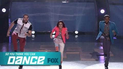 Alexis, Aaron & Curtis Winners Chosen SO YOU THINK YOU CAN DANCE FOX BROADCASTING