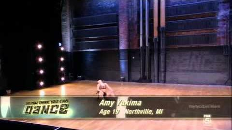 Amy Yakima Audition So You Think You Can Dance Season10