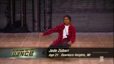 Jade Zuberi Audition So You Think You Can Dance Season10