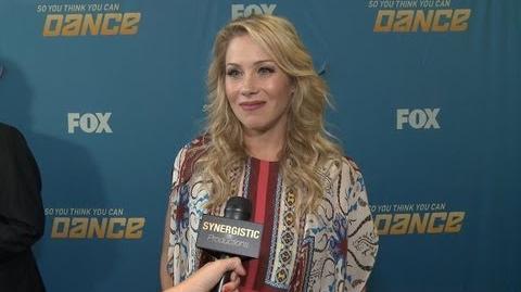 Christina Applegate - Advice to SYTYCD 10 Contestants