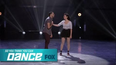 Aaron & Melinda Top 4 Perform SO YOU THINK YOU CAN DANCE FOX BROADCASTING