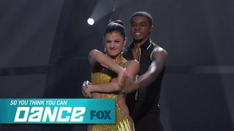Hayley & Curtis Top 17 Perform SO YOU THINK YOU CAN DANCE FOX BROADCASTING