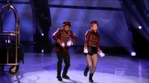 SYTYCD Season 10 - Top 18 Perform - Amy and Fik-Shun