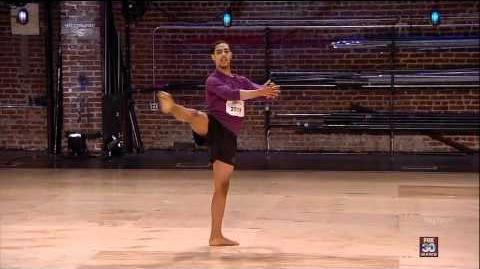 George Lawrence ll - Atlanta Auditions - So You Think You Can Dance