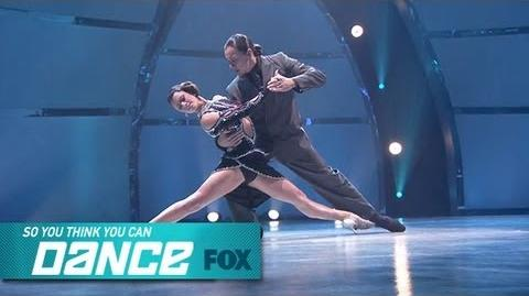 Hayley & Leonardo Top 14 Perform SO YOU THINK YOU CAN DANCE FOX BROADCASTING
