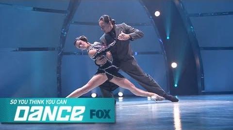 Hayley & Leonardo Top 14 Perform SO YOU THINK YOU CAN DANCE FOX BROADCASTING