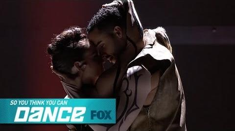 Amy & Aaron Top 4 Perform SO YOU THINK YOU CAN DANCE FOX BROADCASTING