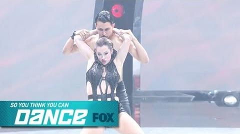 Makenzie & Paul Top 14 Perform SO YOU THINK YOU CAN DANCE FOX BROADCASTING