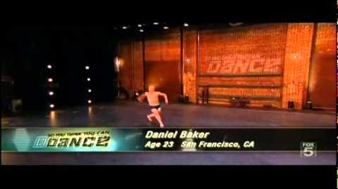So You Think You Can Dance - SYTYCD - Season 9 - Daniel Baker Audition