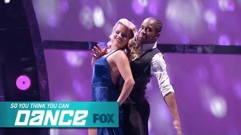 Fik-Shun & Witney Top 6 Perform SO YOU THINK YOU CAN DANCE