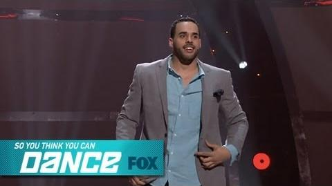 Aaron Top 4 Perform SO YOU THINK YOU CAN DANCE FOX BROADCASTING