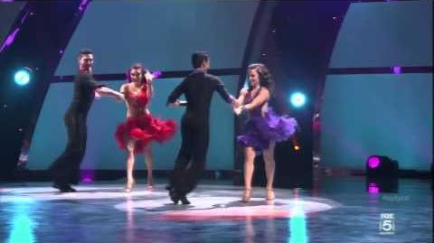 "Allen Britney Jenna and Paul Ballroom ""Wings"" So You Think You Can Dance Season 10"