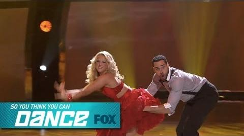 Aaron & Chelsie Top 8 Perform SO YOU THINK YOU CAN DANCE FOX BROADCASTING