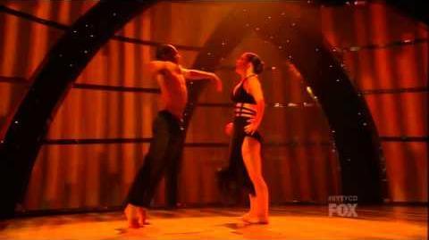 """Amy and Fik-Shun Contemporary """"Elsa"""" So You Think You Can Dance Season 10"""