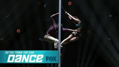 Hayley & Curtis Top 16 Perform SO YOU THINK YOU CAN DANCE FOX BROADCASTING