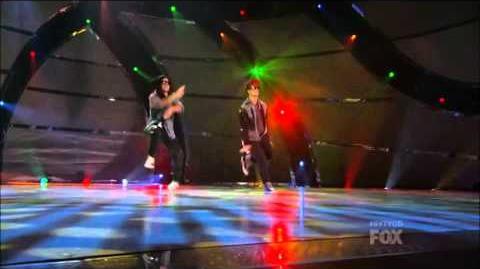 SYTYCD Season 10 - Top 20 Perform - Alexis and Nico
