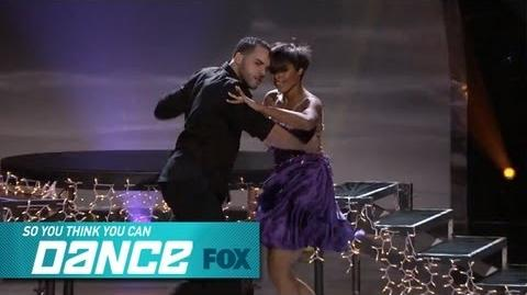 Jasmine H & Aaron Top 4 Perform SO YOU THINK YOU CAN DANCE FOX BROADCASTING