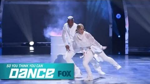 Mariah & BluPrint Top 17 Perform SO YOU THINK YOU CAN DANCE FOX BROADCASTING