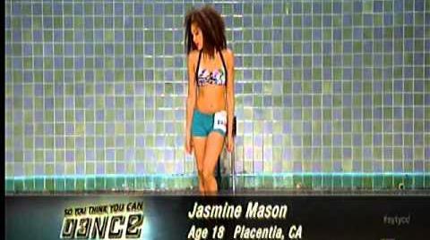 SYTYCD S9 Jasmine Mason Contemporary AUDITION