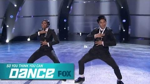 Jasmine H & Marko Winners Chosen SO YOU THINK YOU CAN DANCE FOX BROADCASTING