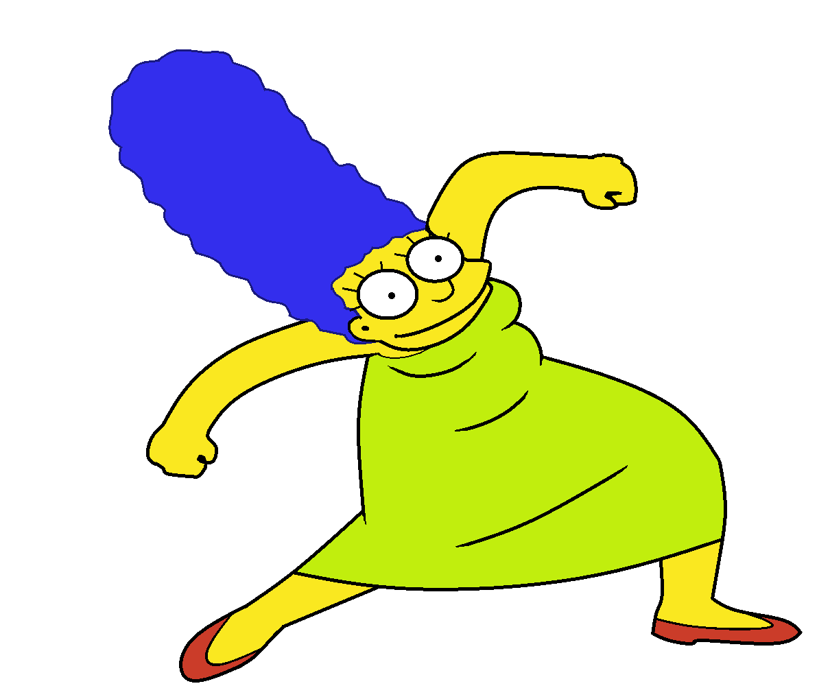 images of marge simpson