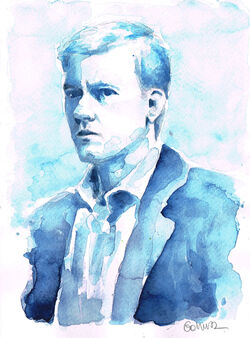 A study in watercolor greg lestrade by gohush-d6iio35