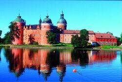 Zamek grpsholm szwecja