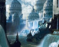 Fantasy-city wallpaper