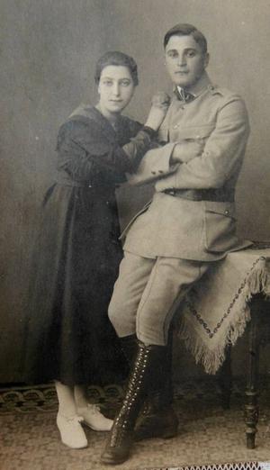 Margarethe-und-Ludwig-Kasner-(Kaźmierczak)-Großeltern-Angela-Merkel (Fot. Łukasz Cynalewski - Agencja Gazeta)