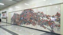Shenzhen Metro Line 2 Civic Center Sta Art Work 20180612