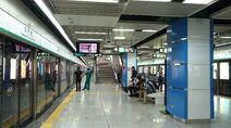 Shenzhen Metro Line 1 OCT Sta Platform