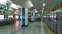 Shenzhen Metro Line 1 Science Museum Sta Concourse