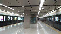 Shenzhen Metro Line 1 Xiangmihu Sta Platform