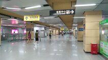 Shenzhen Metro Line 1 Xixiang Sta Concourse