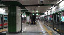 Shenzhen Metro Line 1 Zhuzilin Sta Platform 20180612