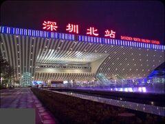 深圳北高鐵站0001