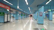 Shenzhen Metro Line 1&5 Qianhaiwan Sta Concourse