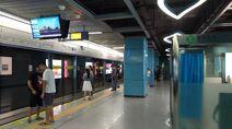 Shenzhen Metro Line 7 Antuo Hill Sta Platform 3