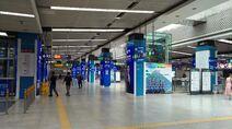 Shenzhen Metro Line 1&2 Window of the World Sta Concourse