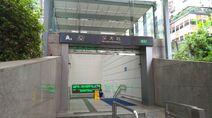 Shenzhen Metro Line 1 SZU Sta Exit A4